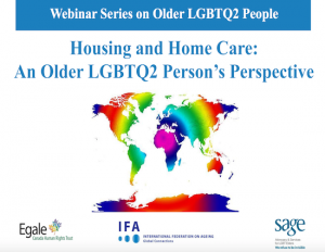Housing and Home Care: An Older LGBTQ2 Person's Perspective