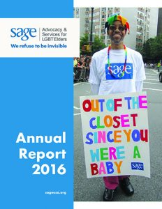 SAGE: Annual Report 2016