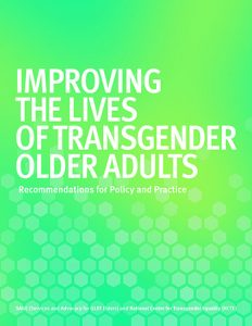 Improving the Lives of Transgender Older Adults