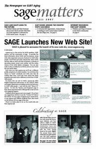 SAGEMatters: Fall 2007
