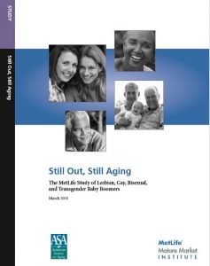 Still Out, Still Aging: The MetLife Study of Lesbian, Gay, Bisexual, and Transgender Baby Boomers