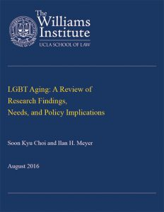 LGBT Aging: A Review of Research Findings, Needs, and Policy Implications