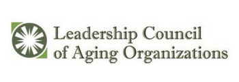 Named only LGBT member of Leadership Council of Aging Organizations