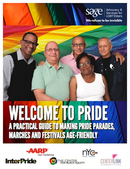 Welcome to Pride: A Practical Guide to Making Pride Parades, Marches and Festivals Age-Friendly