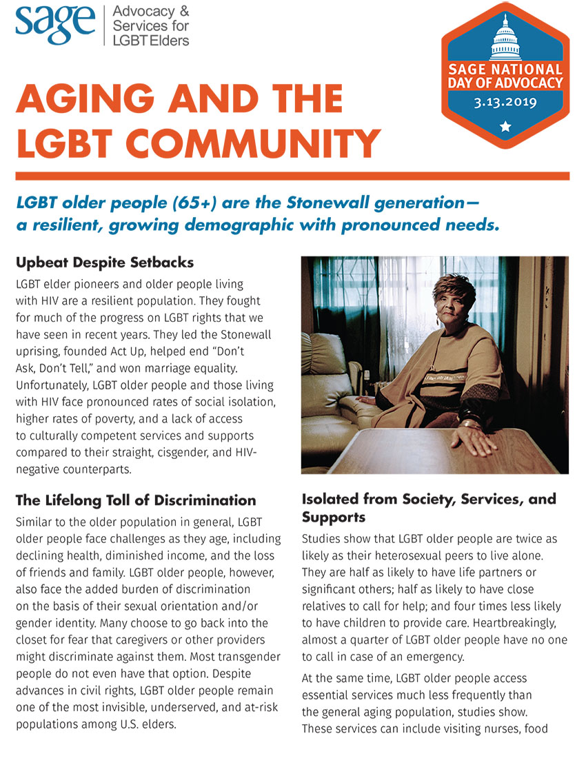 Aging and the LGBT Community