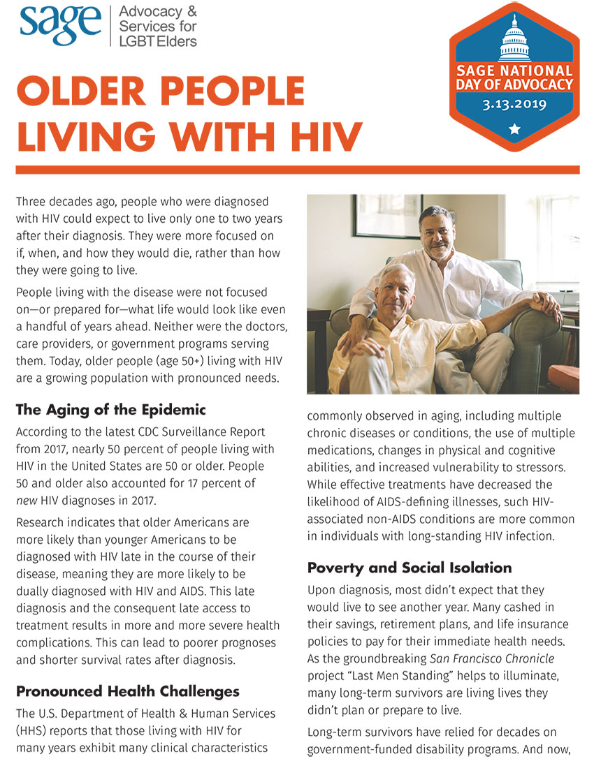 Older People Living with HIV