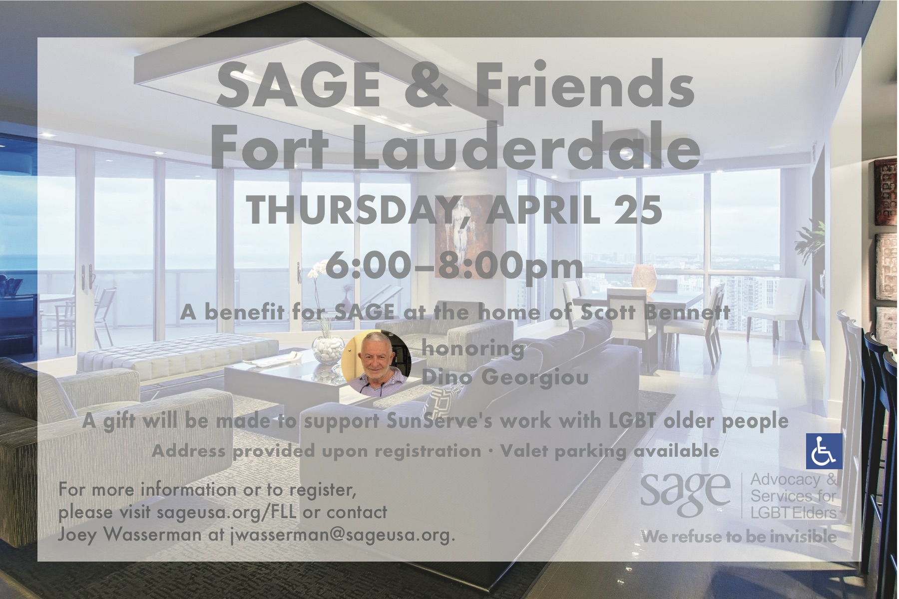 SAGE and Friends Ft. Lauderdale invite