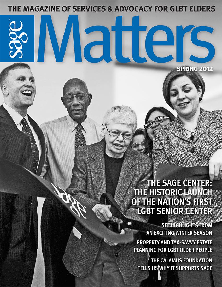SAGEMatters: Spring 2012