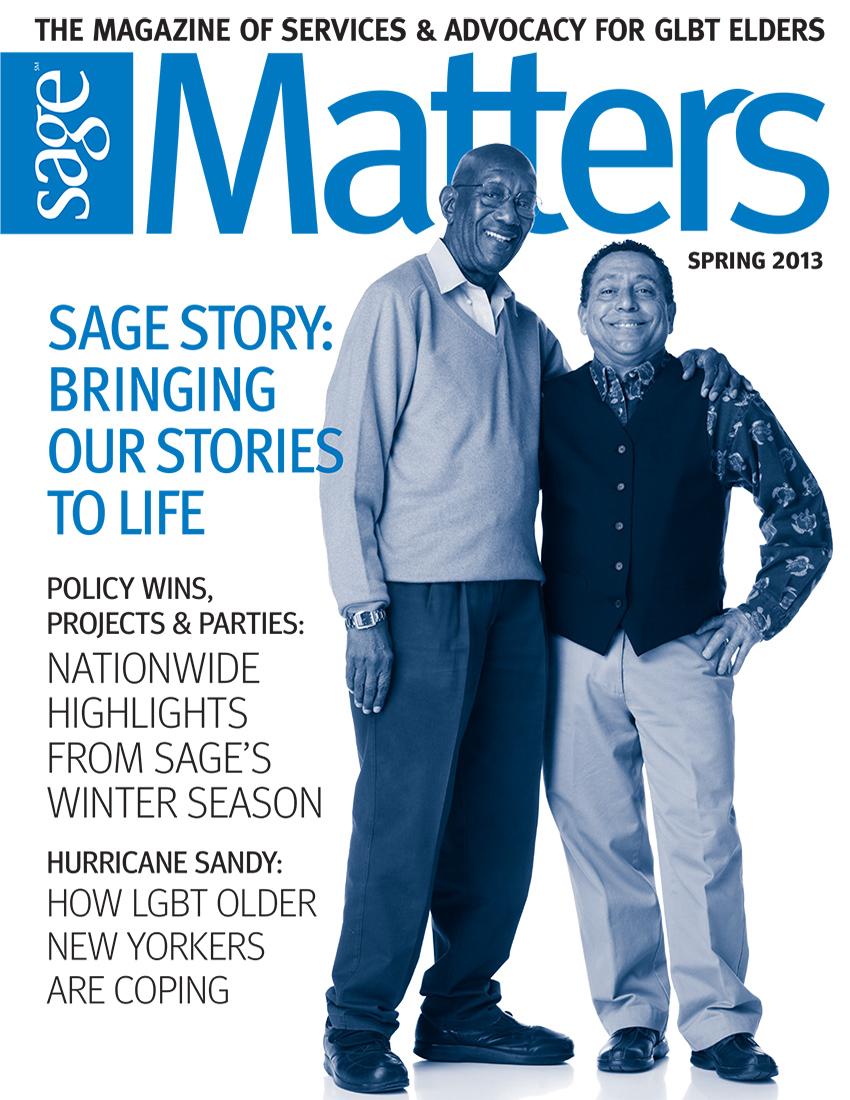 SAGEMatters: Spring 2013
