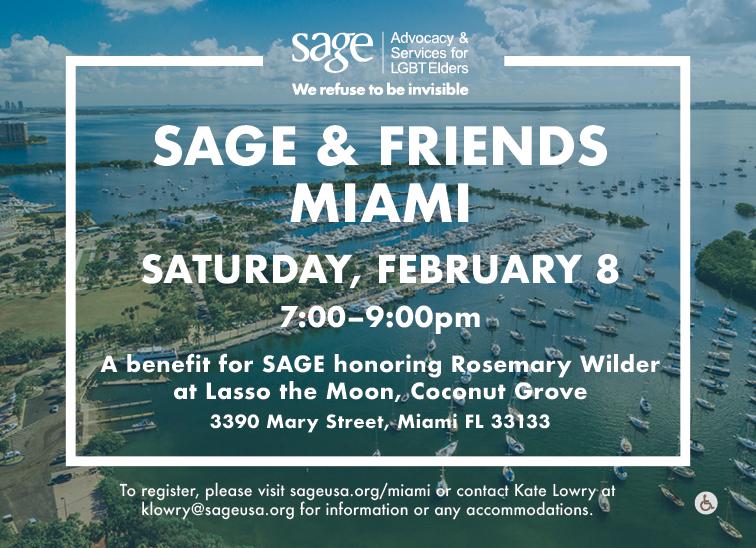 SAGE & Friends Miami 2020