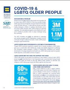 Covid-19 & LGBTQ Older People