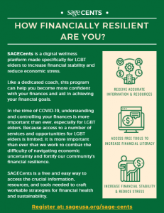 SAGECents: combating COVID-19 financial stress