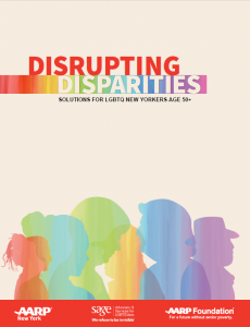 Disrupting Disparities: Solutions for LGBTQ New Yorkers 50+ One Page Overview