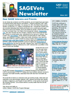SAGEVets Newsletter Winter 2021