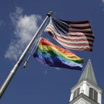 American-flag-and-pride-flag