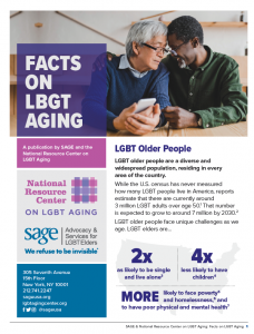 Facts On LGBT Aging
