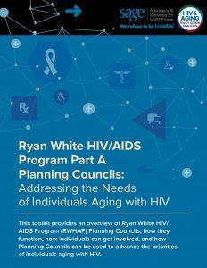 Ryan White HIV/AIDS Program Part A Planning Councils
